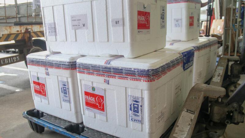 Governadora Fátima Bezerra anuncia chegada de novo lote de vacinas com quase 150 mil doses