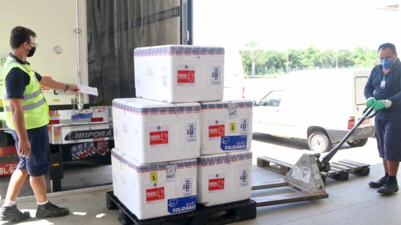 Sesap distribuirá novo lote com 76.850 dose de vacinas na tarde de hoje(30)