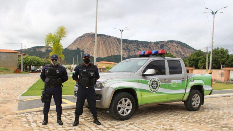 Guarda Civil Municipal realiza trabalho pioneiro na Cidade de Patu