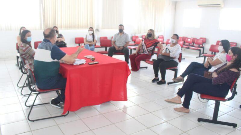 Reunião com equipe da Saúde Bucal define retorno dos atendimentos eletivos em Caraúbas