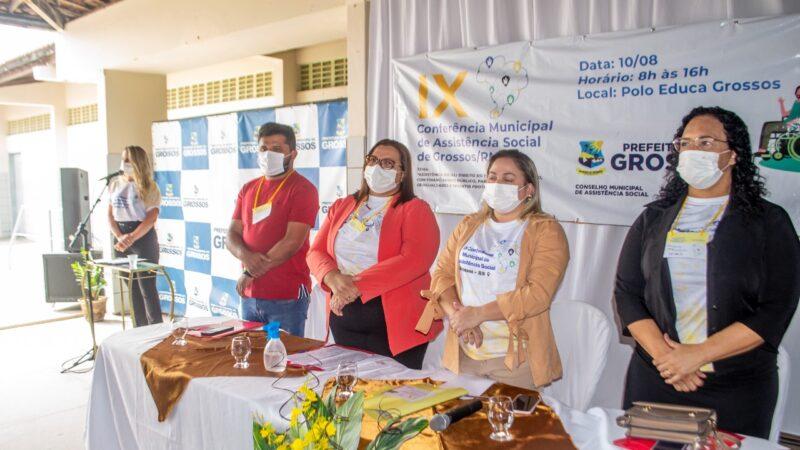 Prefeitura de Grossos realiza a IX Conferência Municipal de Assistência Social nesta terça-feira, 10