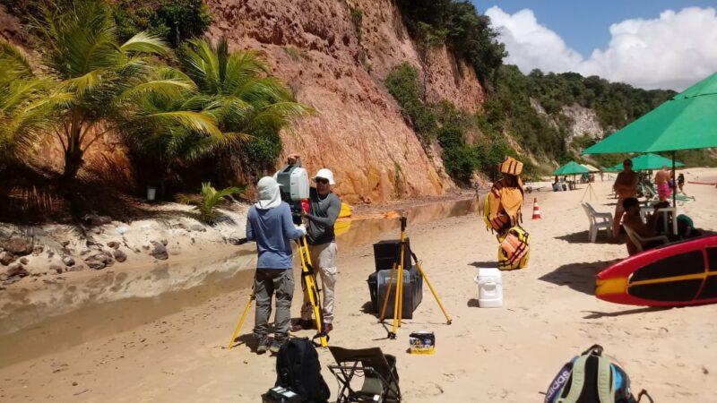 Governo do RN realiza monitoramento das falésias em parceria com UFRN e MDR