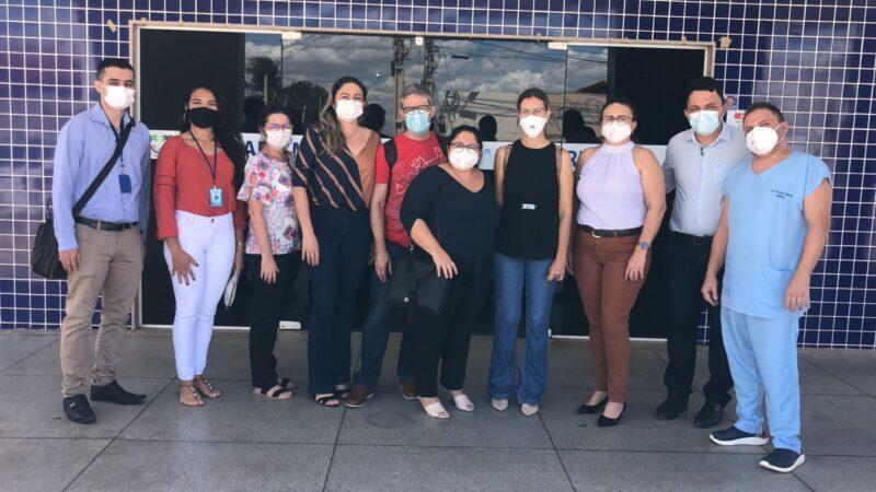 Tibau recebe visita de professores da Ufersa do projeto Hospital de Território