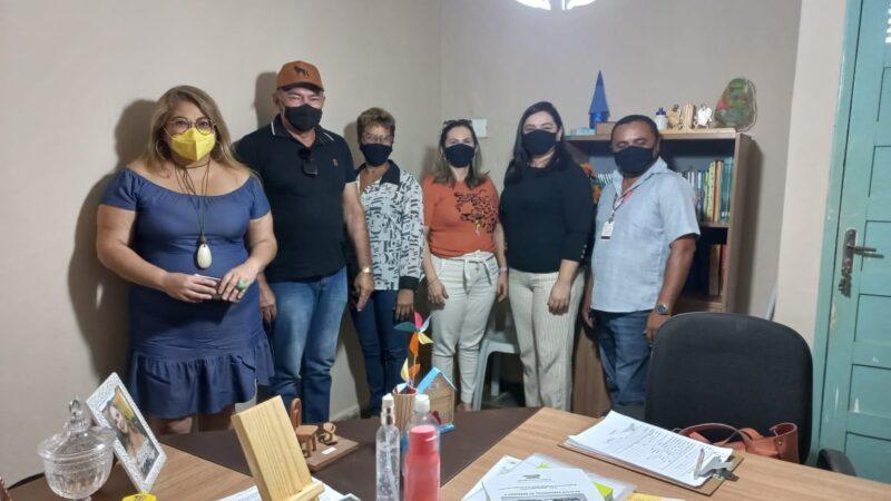 Educação de Serra do Mel recebe visita da Comissão de Transporte Escolar