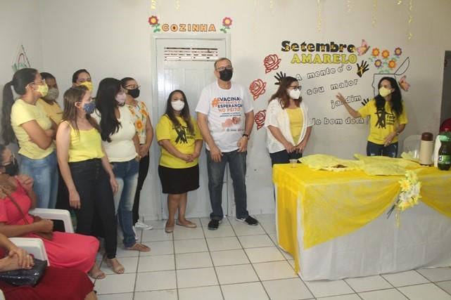 Caps de Caraúbas realiza evento em alusão ao Setembro Amarelo