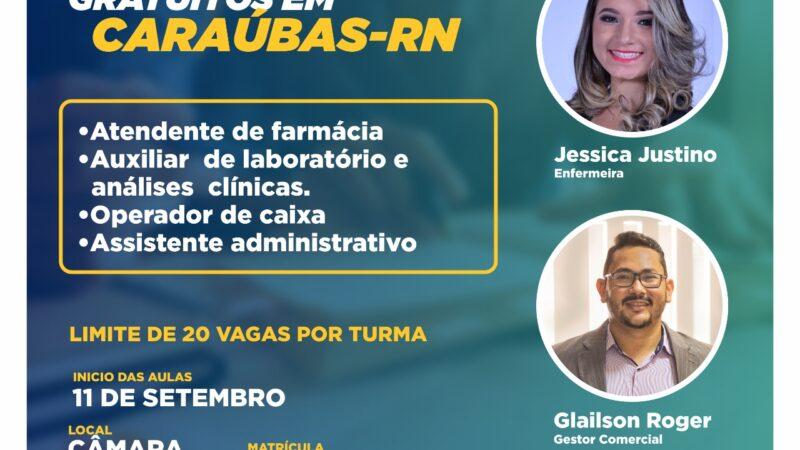 Câmara de Caraúbas e IESP Brasil fecham parceria para ofertar 80 vagas para cursos gratuitos