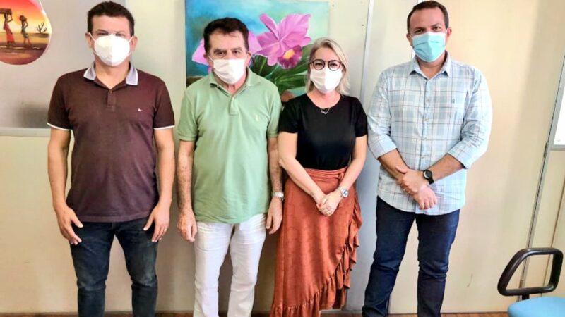 Em Natal prefeito Juninho Alves se reúne com a Sesap para viabilizar melhorias para a Saúde de Caraúbas