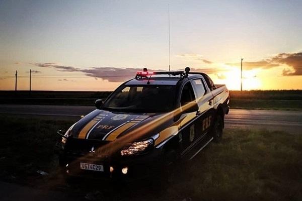 PRF monitora rodovias federais do RN que continuam sem bloqueio de caminhoneiros