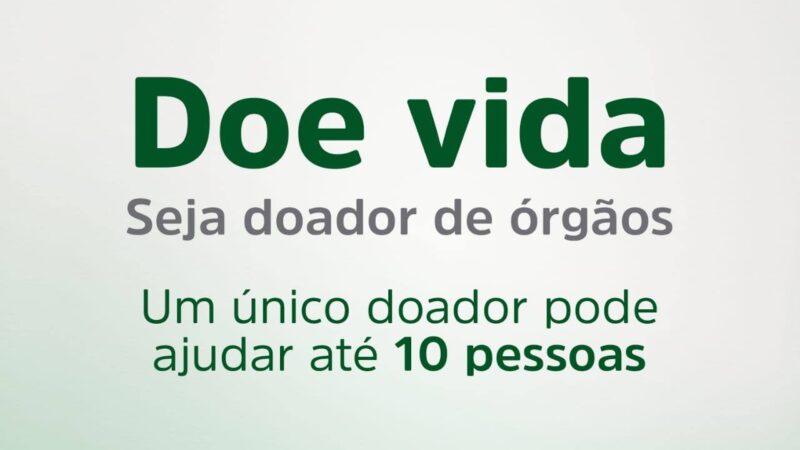 Setembro Verde: Live discute doação de órgãos nesta quarta (8)