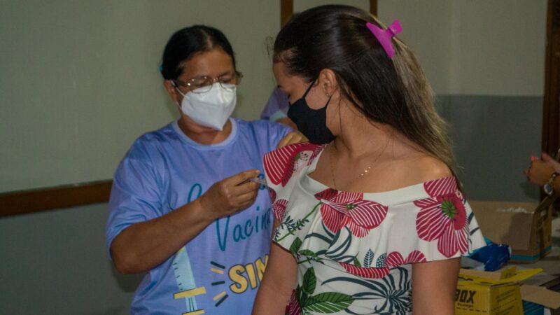 Gestantes e puérperas de 12 e 17 anos serão imunizadas contra Covid-19 em Grossos nesta sexta-feira (3)