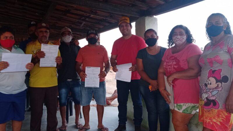 Prefeitura e Incra realizam entrega de Declaração de Aptidão para os agricultores assentados de Caraúbas