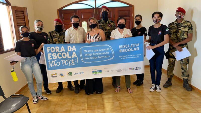 Agentes Busca Ativa Escolar ampliam ações em Patu